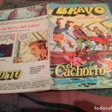 Tebeos: BRAVO- Nº 61 -EL CACHORRO- Nº 31- ACOSO IMPLACABLE - BRUGUERA 1976. Lote 146548242