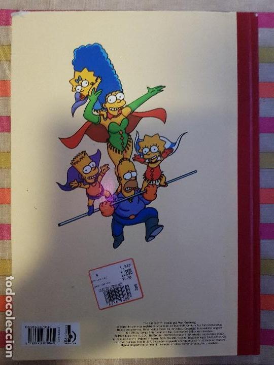 Tebeos: Super Humor Nº 1 super simpson Ediciones B - Foto 2 - 146588286