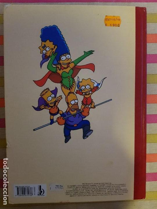 Tebeos: Super Humor Nº 2 super simpson Ediciones B - Foto 2 - 146588354