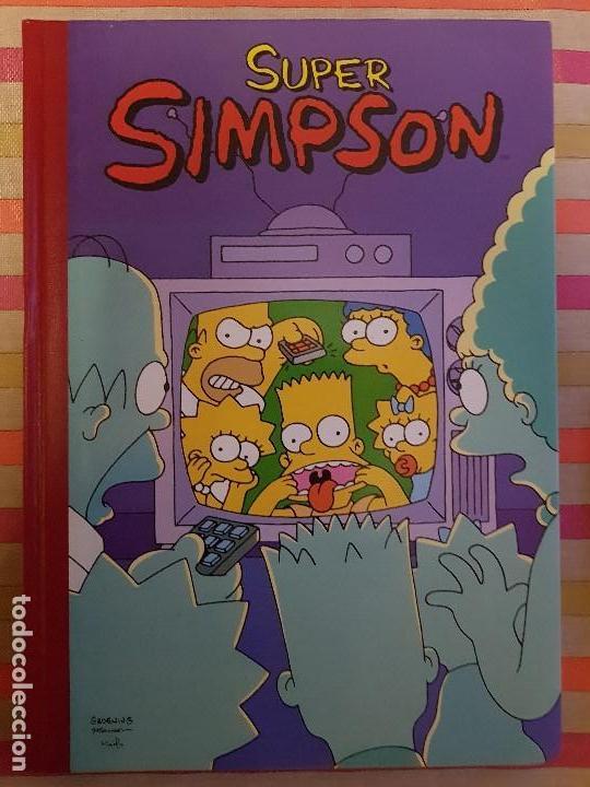 SUPER HUMOR Nº 3 SUPER SIMPSON EDICIONES B (Tebeos y Comics - Bruguera - Super Humor)