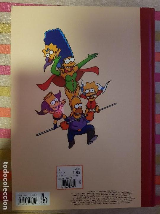 Tebeos: Super Humor Nº 5 super simpson Ediciones B - Foto 2 - 146588530