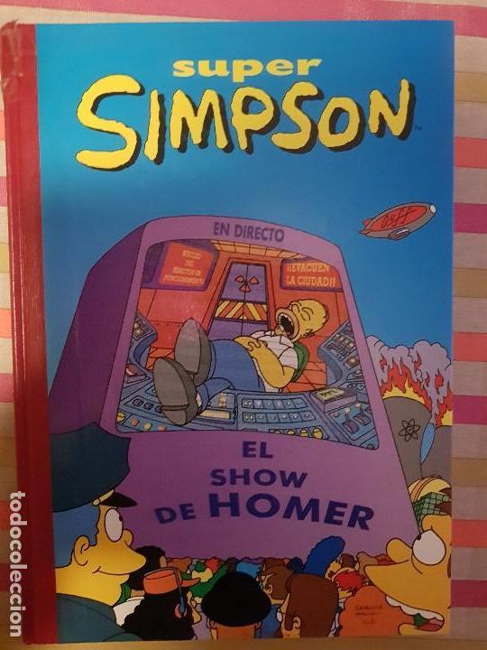 SUPER HUMOR Nº 6 SUPER SIMPSON EDICIONES B (Tebeos y Comics - Bruguera - Super Humor)