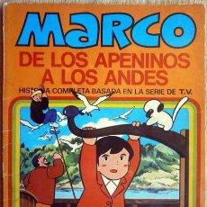 Tebeos: MARCO DE LOS APENINOS A LOS ANDES Nº 10 UN DIA INTERMINABLE BRUGUERA SERIE TV 1977. Lote 146640146