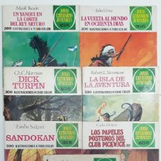 Tebeos: JOYAS LITERARIAS JUVENILES, BRUGUERA (1ª, 2ª Y 3ª EDICIÓN AÑOS 70) 7 EJEMPLARES, VER RELACIÓN. Lote 146661834
