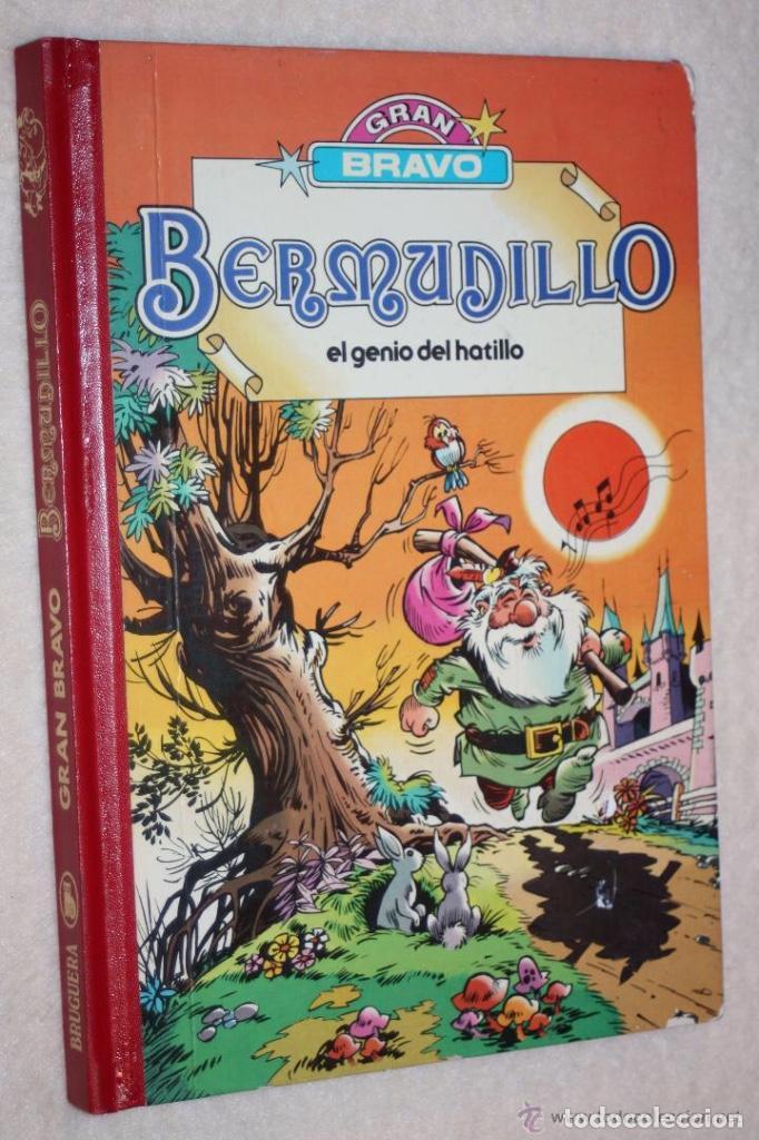 BERMUDILLO, EL GENIO DEL HATILLO -GRAN BRAVO - ( TOMO RECOPILATORIO) MUY DIFÍCIL Y A UN GRAN PRECIO (Tebeos y Comics - Bruguera - Bravo)