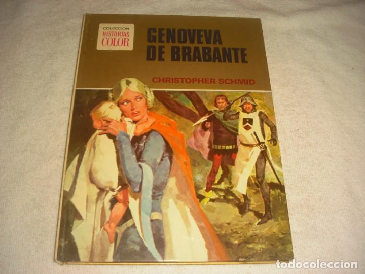 GENOVEVA DE BRAVANTE. HISTORIAS COLOR, SERIE MUJERCITAS Nº 1. TAPA DURA (Tebeos y Comics - Bruguera - Historias Selección)