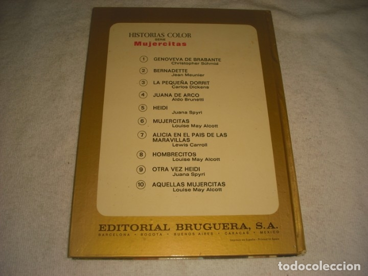 Tebeos: GENOVEVA DE BRAVANTE. HISTORIAS COLOR, SERIE MUJERCITAS Nº 1. TAPA DURA - Foto 2 - 146852946