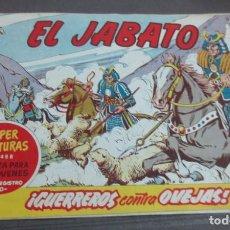 Tebeos: EL JABATO ¡GUERREROS CONTRA OVEJAS! Nº 488 Nº 152 EDITORIAL BRUGUERA AÑO 1961 ORIGINAL. Lote 146855062