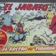 Tebeos: EL JABATO ¡EL RASTRO DEL TIBURÓN! Nº 476 Nº 148 EDITORIAL BRUGUERA AÑO 1961 ORIGINAL. Lote 146855654