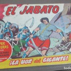 Tebeos: EL JABATO ¡LA VOZ DEL GIGANTE! Nº 458 Nº 142 EDITORIAL BRUGUERA AÑO 1961 ORIGINAL. Lote 146856518