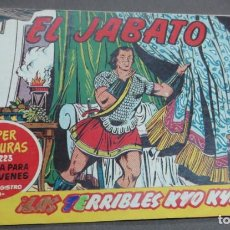Tebeos: EL JABATO ¡LOS TERRIBLES KYO-KYO! Nº 223 Nº 55 EDITORIAL BRUGUERA AÑO 1959 ORIGINAL. Lote 146861186