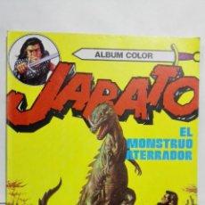 Tebeos: JABATO - ALBUM COLOR, Nº 10, EL MONSTRUO ATERRADOR. Lote 146887978