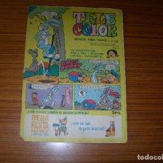 Tebeos: TELE COLOR Nº 136 EDITA BRUGUERA . Lote 146913526