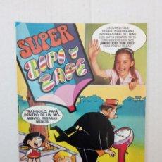Tebeos: SUPER ZIPI Y ZAPE Nº 73. LOS PITUFOS, BENITO BONIATO.... Lote 147008210