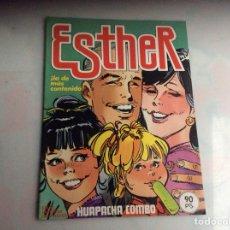 Tebeos: ESTHER Nº 47 - POSTER HUAPACHA COMBO ED. BRUGUERA AÑO 1983. Lote 56255030