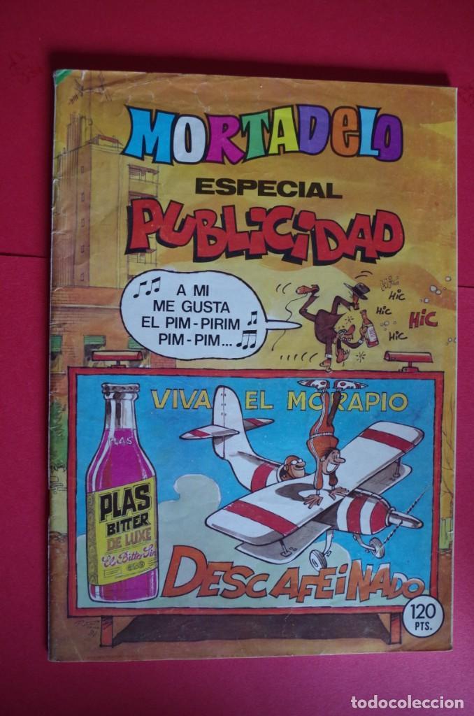 MORTADELO ESPECIAL PUBLICIDAD Nº 178 BRUGUERA 1984 CON DULCE FRENESÍ (Tebeos y Comics - Bruguera - Mortadelo)
