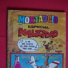 Tebeos: MORTADELO ESPECIAL PUBLICIDAD Nº 178 BRUGUERA 1984 CON DULCE FRENESÍ . Lote 147073430