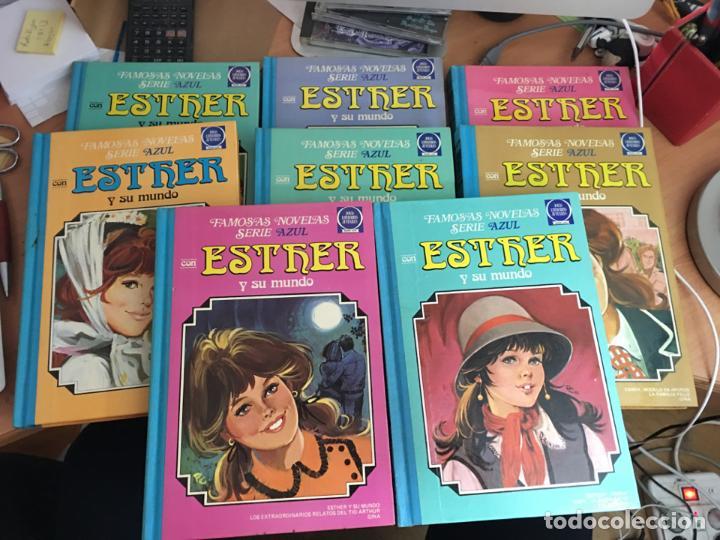 ESTHER Y SU MUNDO LOTE TOMOS Nº 1, 2, 3, 4, 5, 6,7 Y 8 (BRUGUERA) (COIM19) (Tebeos y Comics - Bruguera - Esther)