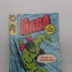 Tebeos: LA MASA , EL INCREIBLE HULK 1981 Nº10 . . Lote 147108414