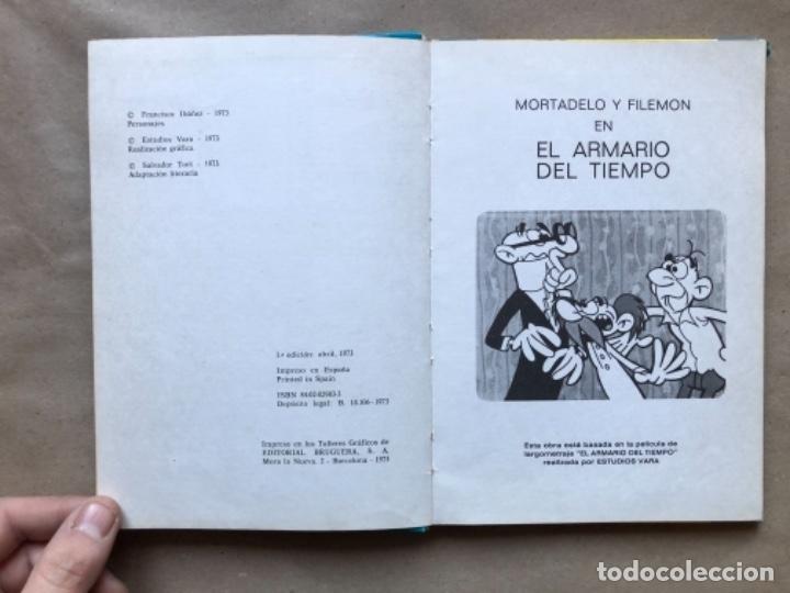 Tebeos: COLECCIÓN PELÍCULAS DE MORTADELO. LOTE CON 4 PRIMEROS NÚMEROS. EDITORIAL BRUGUERA 1973 (1ªEDICIÓN). - Foto 5 - 147139626