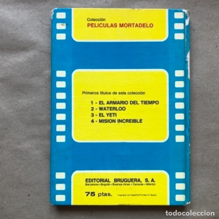 Tebeos: COLECCIÓN PELÍCULAS DE MORTADELO. LOTE CON 4 PRIMEROS NÚMEROS. EDITORIAL BRUGUERA 1973 (1ªEDICIÓN). - Foto 8 - 147139626