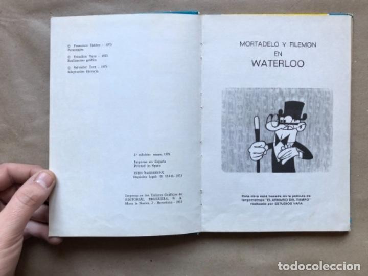 Tebeos: COLECCIÓN PELÍCULAS DE MORTADELO. LOTE CON 4 PRIMEROS NÚMEROS. EDITORIAL BRUGUERA 1973 (1ªEDICIÓN). - Foto 11 - 147139626