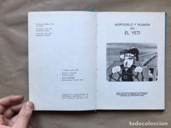 Tebeos: COLECCIÓN PELÍCULAS DE MORTADELO. LOTE CON 4 PRIMEROS NÚMEROS. EDITORIAL BRUGUERA 1973 (1ªEDICIÓN). - Foto 21 - 147139626
