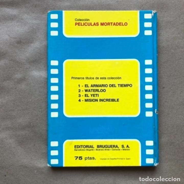 Tebeos: COLECCIÓN PELÍCULAS DE MORTADELO. LOTE CON 4 PRIMEROS NÚMEROS. EDITORIAL BRUGUERA 1973 (1ªEDICIÓN). - Foto 27 - 147139626