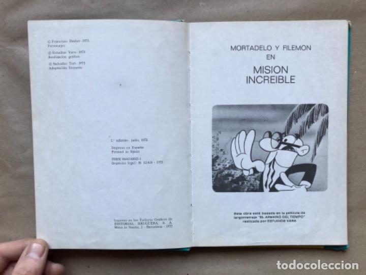 Tebeos: COLECCIÓN PELÍCULAS DE MORTADELO. LOTE CON 4 PRIMEROS NÚMEROS. EDITORIAL BRUGUERA 1973 (1ªEDICIÓN). - Foto 29 - 147139626
