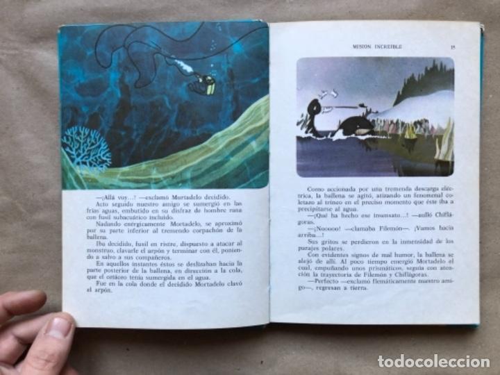 Tebeos: COLECCIÓN PELÍCULAS DE MORTADELO. LOTE CON 4 PRIMEROS NÚMEROS. EDITORIAL BRUGUERA 1973 (1ªEDICIÓN). - Foto 33 - 147139626