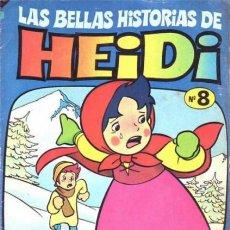 Tebeos: LAS BELLAS HISTORIAS DE HEIDI -Nº 8 - GRAN TRABAJO DE JAN- 1976- RARO- ESCASO-LEAN- 9994. Lote 191468713