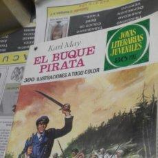 Tebeos: JOYAS LITERARIAS JUVENILES.EL BUQUE PIRATA.1978. Lote 147327457