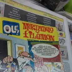 Tebeos: MORTADELO Y FILEMON.OLE.88. 1 EDICION 1973. Lote 147341033