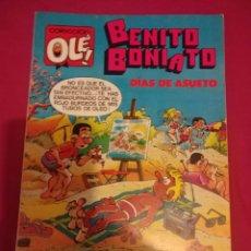 Tebeos: BENITO BONIATO . 5 . DIAS DE ASUETO . 1ª EDICION 1984 . COLECCION OLE !. Lote 147375012