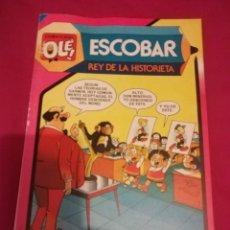 Tebeos: ESCOBAR . REY DE LA HISTORIETA . 293 . 1ª EDICION 1984 . COLECCION OLE !. Lote 147376110