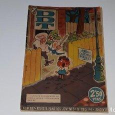 Tebeos: DDT - REVISTA PARA LOS JOVENES AÑO XII Nº 587 AÑO 1962 EDITORIAL BRUGUERA. Lote 147501102