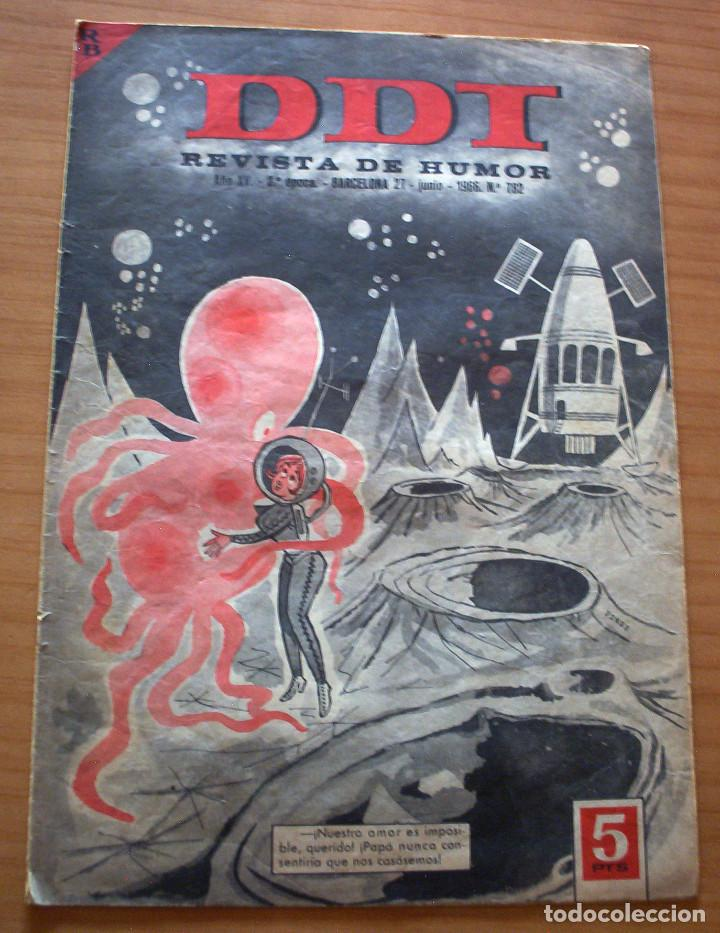 DDT - Nº 782 - AÑO 1966 (Tebeos y Comics - Bruguera - DDT)