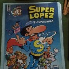 Tebeos: OLÉ. SUPERLOPEZ. EL SUPERGRUPO. Lote 147597534