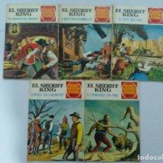 Tebeos: 5 NUMEROS COMICS SHERIFF KING. Lote 215628867