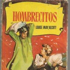 Tebeos: COLECCIÓN HISTORIAS. Nº 25. HOMBRECITOS. LOUISE MAY ALCOTT. BRUGUERA 1959. (ST/SELC.). Lote 147670790