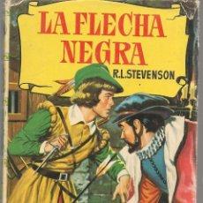 Tebeos: COLECCIÓN HISTORIAS. Nº 46. LA FLECHA NEGRA. R.L. STEVENSON. BRUGUERA 1959. (ST/SELC.). Lote 147670930