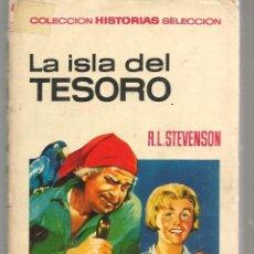 Tebeos: COLECCIÓN HISTORIAS SELECCIÓN. Nº 1. LA ISLA DEL TESORO. R.L. STEVENSON. BRUGUERA 1967. (ST/SELC.). Lote 147671242