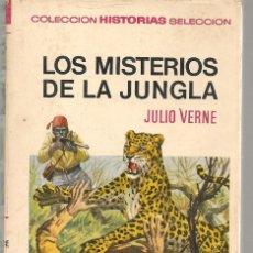 Tebeos: HISTORIAS SELECCIÓN. Nº 13. LOS MISTERIOS DE LA JUNGLA. JULIO VERNE. BRUGUERA 1972.(ST/SELC.). Lote 147672362