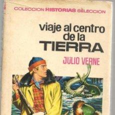 Tebeos: HISTORIAS SELECCIÓN. Nº 4. VIAJE AL CENTRO DE LA TIERRA. JULIO VERNE. BRUGUERA 1971.(ST/SELC.). Lote 147675298