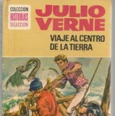 Tebeos: HISTORIAS SELECCIÓN. Nº 4. VIAJE AL CENTRO DE LA TIERRA. JULIO VERNE. BRUGUERA 1979.(ST/SELC.). Lote 147675406