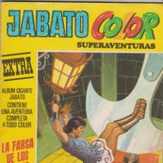 Tebeos: JABATO COLOR -- Nº 11 LA FARSA DE LOS HAINIS -- 3ª ÉPOCA. Lote 147688994