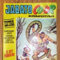 Tebeos: JABATO COLOR Nº 37 EXTRA SEGUNDA EPOCA EL REY MANKAR. Lote 147746006