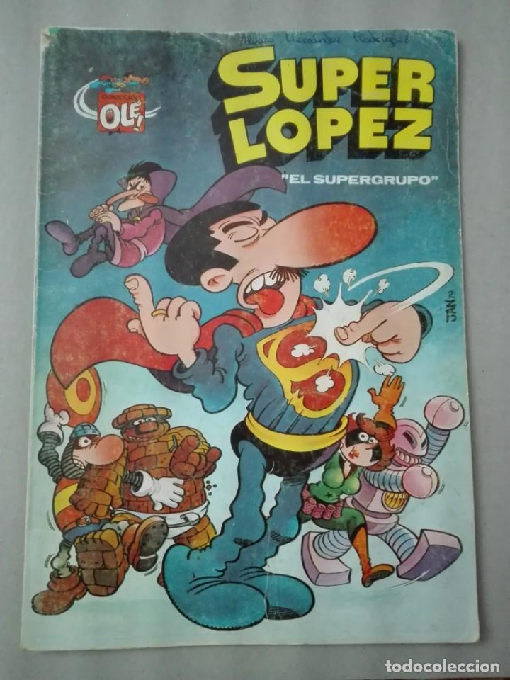 SUPERLÓPEZ EDITORIAL BRUGUERA 1983 (Tebeos y Comics - Bruguera - Ole)