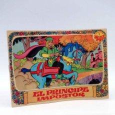 Tebeos: COLECCIÓN AMAPOLA 1. EL PRINCIPE IMPOSTOR (JUAN LÓPEZ - JAN) BRUGUERA, 1975. BUEN ESTADO. OFRT. Lote 195336532