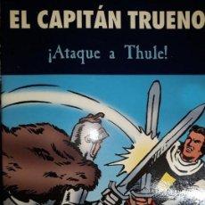 Tebeos: COMIC CAPITÁN TRUENO ATAQUE A THULE PROHIBIDA SU VENTA ARGUCIA DUQUE CABALLOS SALVAJES. Lote 147874770